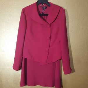 CYNTHIA HOWIE PINK SKIRT SUIT SET